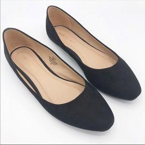 Madden Girl Black Socutee Soft Bendable Flats 11